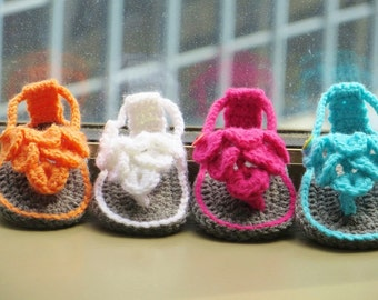Crochet Booties Pattern, Crocodile Stitch Booties,  Crocodile Stitch Baby Sandals