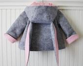 Honey Bunny Coat in Grey