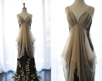 Mother of the bride Dress-high fashion-one of a kind-Ting Permanent Design