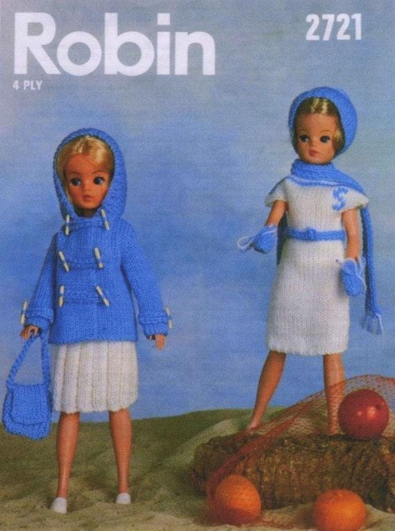 Simple Knitting Patterns For Scarves : Robin 2721 Vintage 12inch Sindy Doll by vintagemadamedefarge