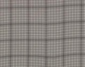 Etchings Woven Fabric by Three Sisters for Moda Fabrics-Grey Plaid-1 Yard-12022-13