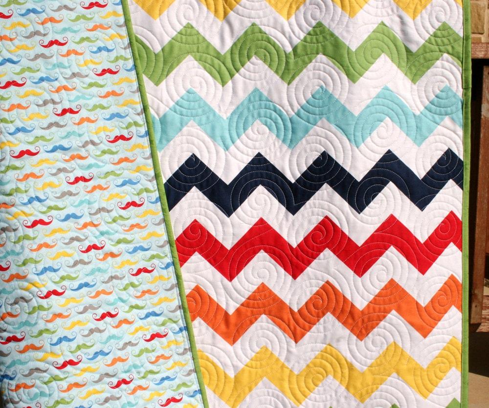 Primary Colored Girl Crib Bedding
