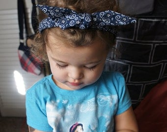 Olivia Paige - Pin up Baby Girl Bandana headband