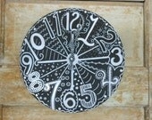 Whimsy Working CLOCK for a fun teacher's classroom  Custom Order