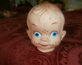 vintage baby head for doll making