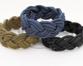 Nantucket Turk's Head Sailor's Knot 550 Paracord Survival Strap Bracelet