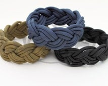 Nantucket Turk's Head Sailor's Knot 550 Paracord Survival Strap Bracelet