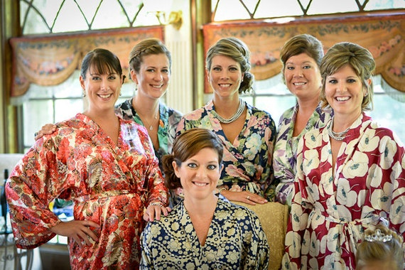 BRIDESMAID ROBES - Reserved Listing for Jen L