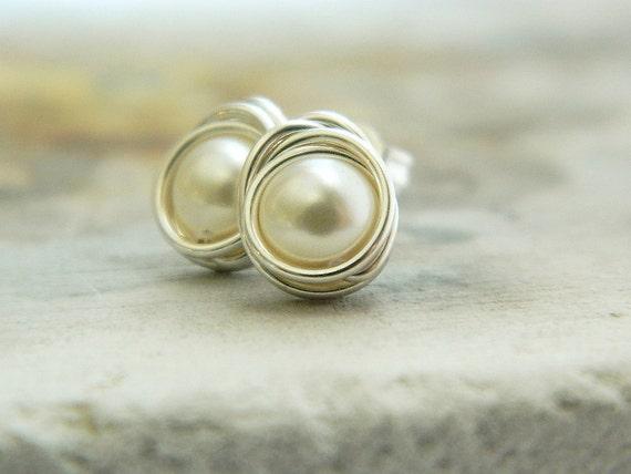 https://www.etsy.com/listing/114686012/pearl-stud-earrings-post-earrings-wire