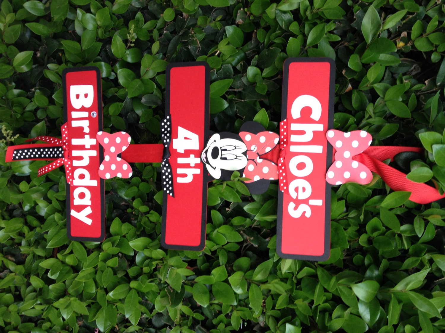 Diy Minnie Mouse Party Decorations Minnie Mouse Party Sign