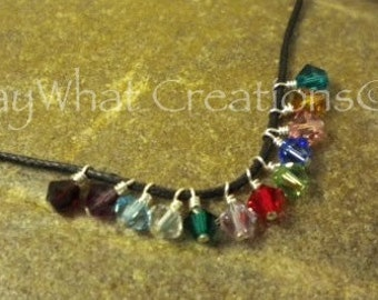 Add a birthstone or pearl