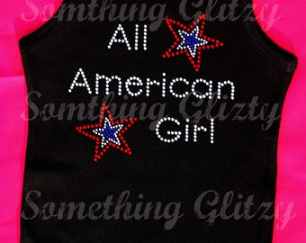 All American Girl Tank Top or Tee
