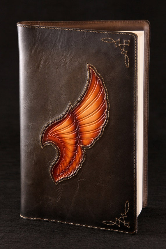 Leather Journal, leather diary:  Icon Journal