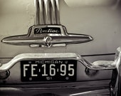 Old Pontiac Chieftan - Black and White Classic Car Art - Man Cave Wall Art - Gift for Guys - Fine Art Photography