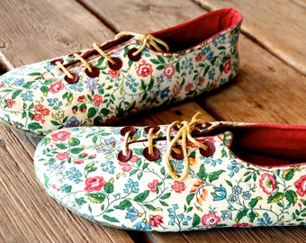 Boyfriend Girlfriend Oxford Shoe Sewing Pattern- Hipster Oxfords- Instant Download Pdf for Men and Women- WATCH FREE Soling VIDEO