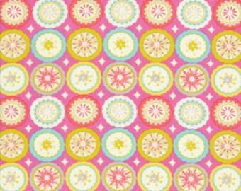 Dena Designs - Kumari Garden - Lalit in Pink  - 1 Yard - Cotton Fabric