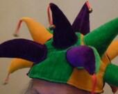 Jesters Hat Halloween Costume Hat Accessory Joker