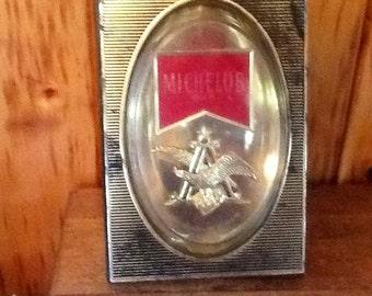 Vintage Michelob Beer Sign Bar Room Barware Mancave