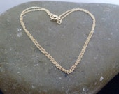 necklace chain - 14k gold-filled cable chain 1 mm - gold chain