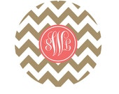 Personalized Round Glass Cutting Board, Monogrammed Glass Cutting Board, New Couple Gift, Hostess Gift, Bridal Shower Gift