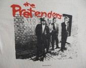 THE PRETENDERS vintage 1984 tour TSHIRT
