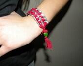 Upcycled Pop Tab Bracelet Recycled