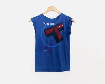 original The Tubes t-shirt, 1981 The Tubes World Tour, vintage tee