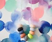 ava handmade bead necklace