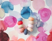 morisot handmade bead necklace
