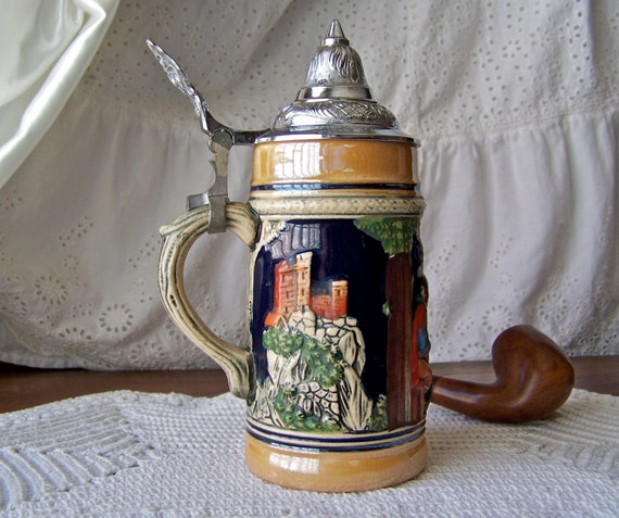Vintage GERZ German Beir Stein made in West Germany | eBay |Vintage West Germany Beer Steins