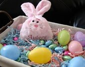 PERSONALIZED BUNNY Treat Bag - Easter Bunny Personalized Candy Holder