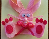 Silly Bunny Ribbon Sculpture