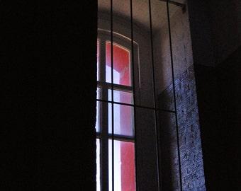 Fine Art Photography - WINDOW I - Architectural Photography Geometric 8x10