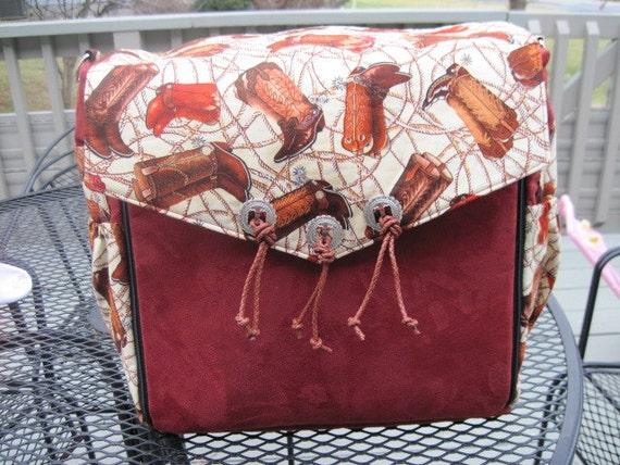 western diaper bag dad 39 s diaper by babiestobows on etsy. Black Bedroom Furniture Sets. Home Design Ideas