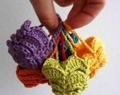 CROCHET PATTERN Easter Egg Crocheted Basket -  egg cozy, easter crochet, easter egg basket,photo tutorial,easter cozy, sell what you make