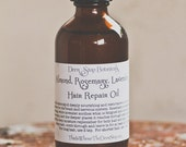 Almond, Rosemary, Lavender Hair Treatment Oil, 2oz