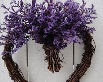 Heart Wreath  Valentines Wreath  Valentine Day    Wedding Wreath  Anniversary Wreath Valentine Gift