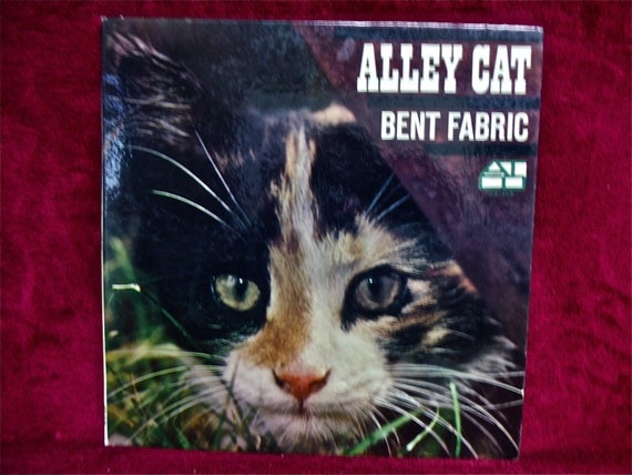 Items similar to BENT FABRIC - Alley Cat - 1962 Vintage Vinyl Record Album on Etsy