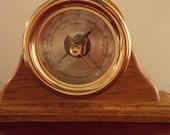 Vintage Brass Weems & Plath Style Barometer