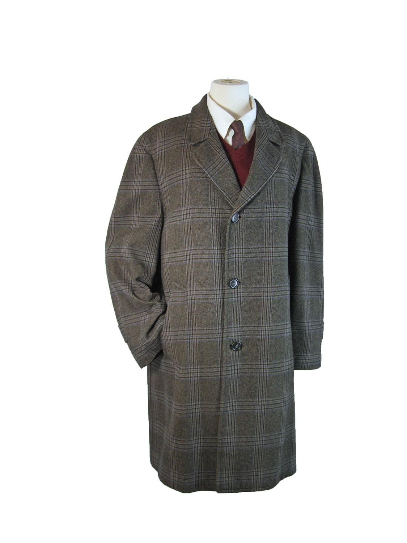 Mens fashion wool coat 80