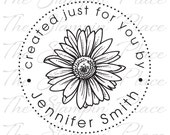 Personalized Custom Stamp - Daisy created just for you by - PK202