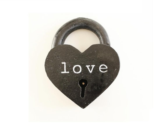 Unique 6th Wedding Anniversary Gifts For Him : ... Lock personalized 6th anniversary gifts for him iron anniversary gifts