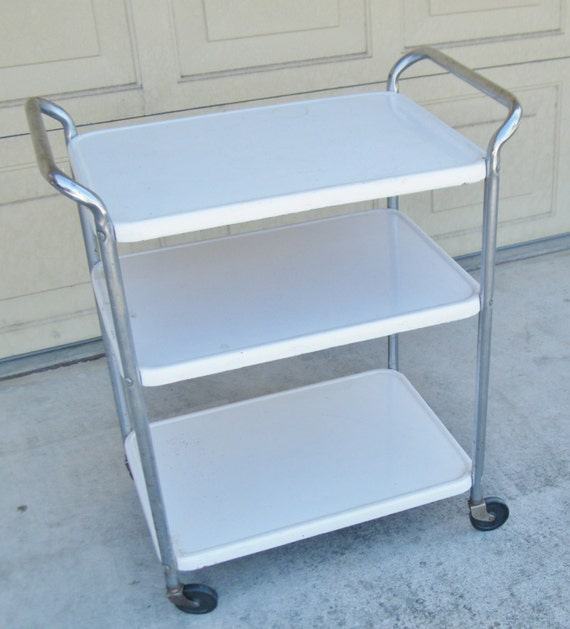 Vintage Cosco Serving Cart