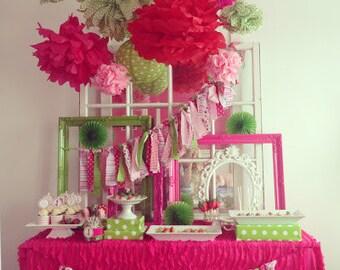 Strawberry Birthday, Strawberry Birthday Invitation, Strawberry Printables, Strawberry Birthday Decorations, Lauren Haddox Designs