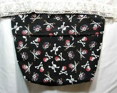 Pirate themed bedside pocket