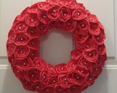 Sola flower wreath - Red Roses - Sola Flowers