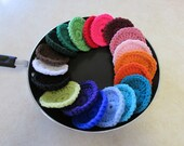 Ten Miracle Nylon Dish Scrubbies - Choose your colors