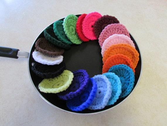 Ten Miracle Nylon Dish Scrubbies - Choose your colors