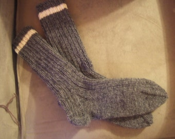 Wool Sock Knitting Services. Wool Socks Made to Order.
