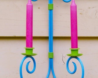 Take 20% Off Bright & Simple Scroll Wall Taper Holder Indoor/Outdoor